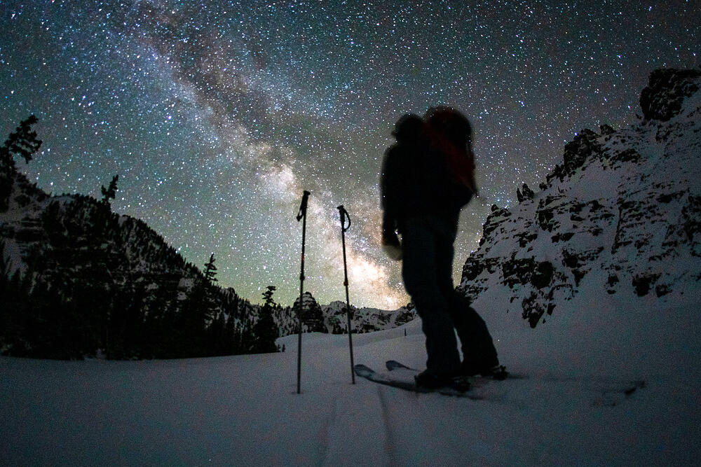 Dawn Patrol in Colorado under the Stars