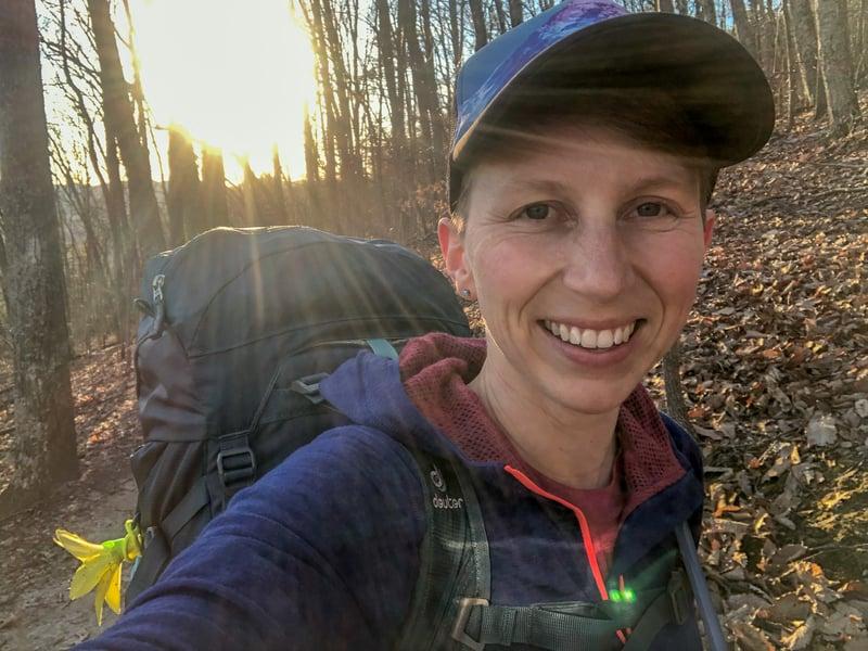 Backpacking in Virginia