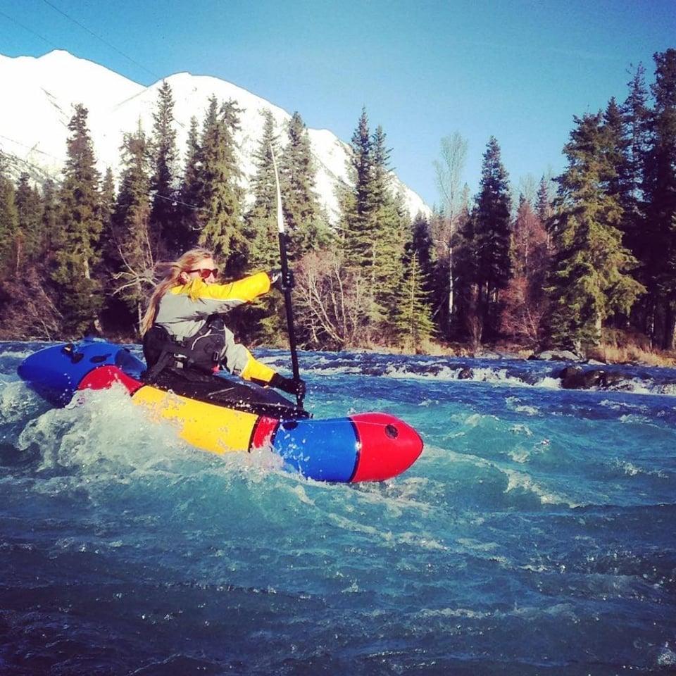 Paddling adventures in Alaska