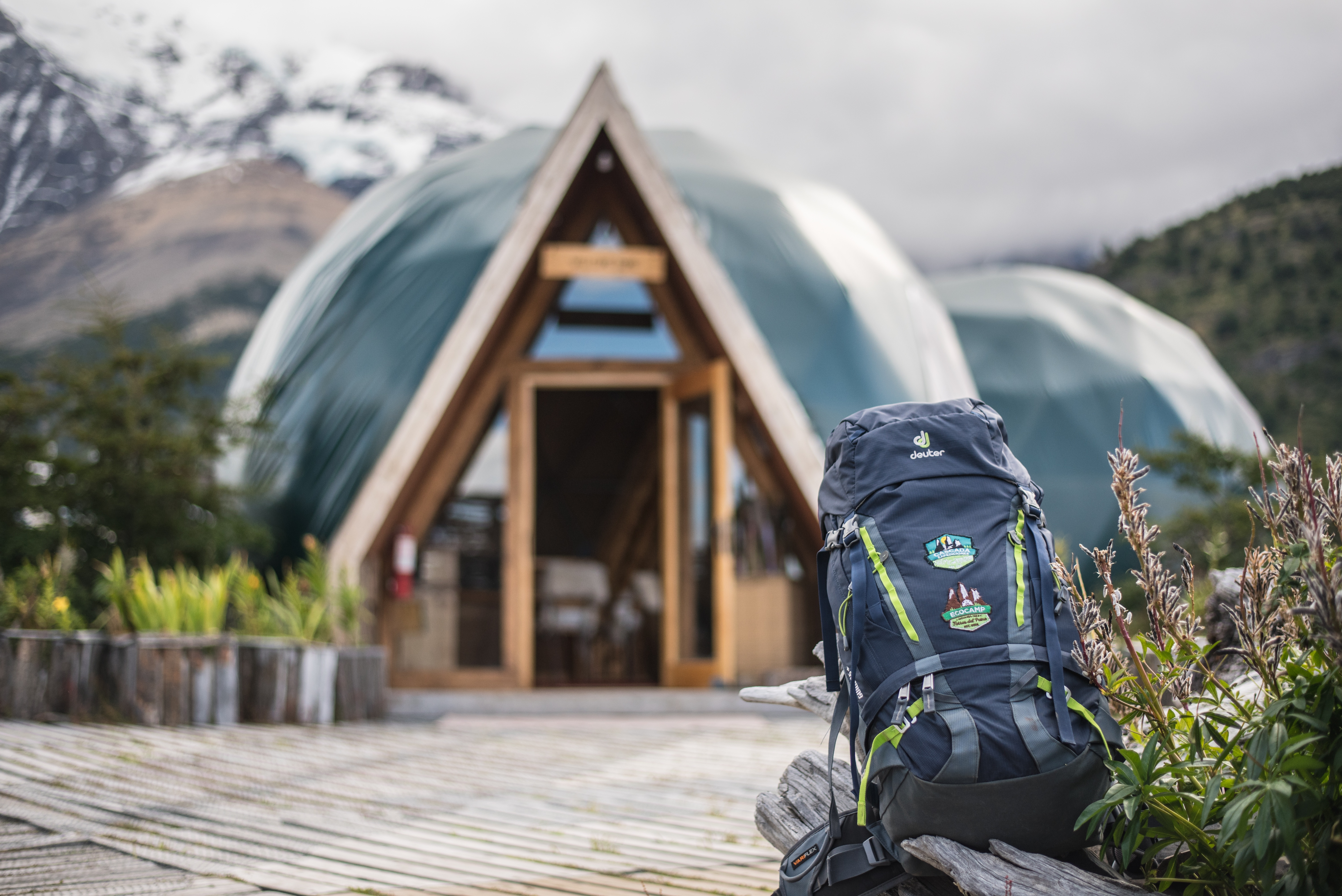 deuter-backpacks-at-ecocamp-patagonia-torres-del-paine-chile_26940663678_o
