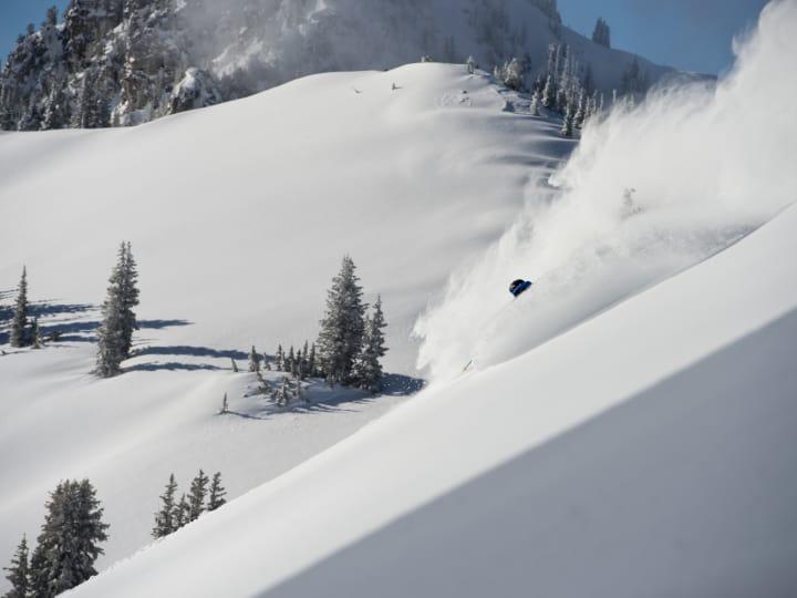 Alta Ski Area skiing