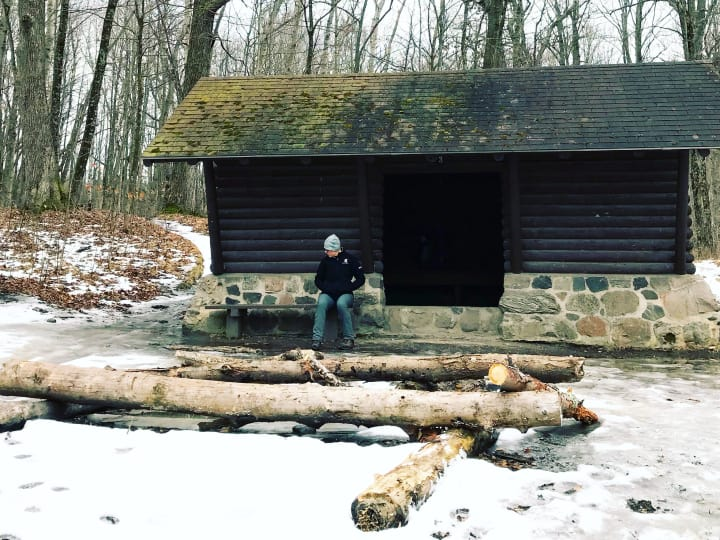 Dundee Shelter #3 on Wisconsin's Ice Age Trail